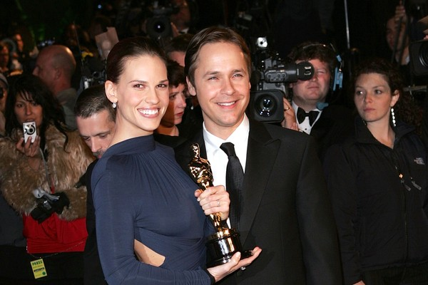 Hilary Swank e Chad Lowe (Foto: Getty Images)