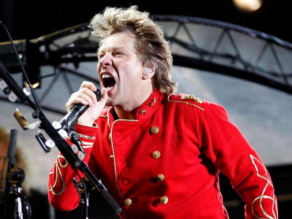 Bon Jovi vai se apresentar no Rock in Rio e no São Paulo Trip em setembro deste ano (Foto: Reuters)