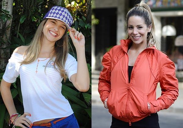 Fatinha e Marcela (Foto: TV globo/Malhação)