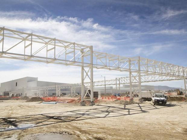 Fábrica da Nissan em Aguascalientes, região do México onde indústria automobilística predomina (Foto: Divulgação)
