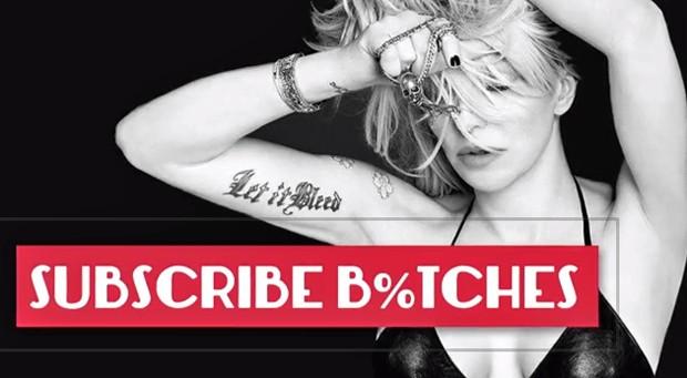 Courtney Love lança websérie no YouTube (Foto: Divulgação)