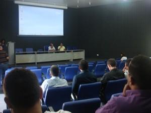 Reunião teve baixa participação de representantes dos municípios. (Foto: Rita Madeira/Ascom Funasa)