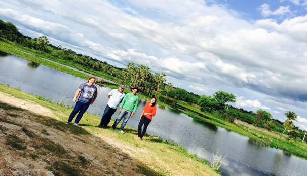 Equipe do Clube Rural mostra as belezas do semiárido piauiense (Foto: TV Clube)