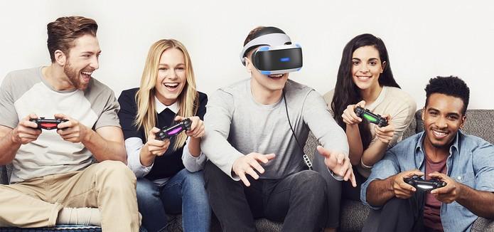 Recurso Social Screen permite multiplayer com o PS VR (Foto: Divulgação/Sony)