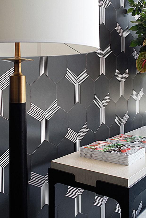 Lounge Casa Vogue (Foto: Gabriel Arantes)