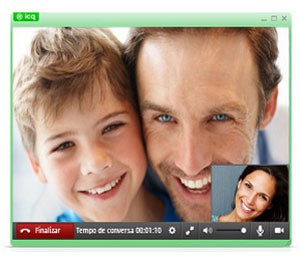 ICQ agora permite chamadas de vídeo e de voz para telefones fixos e celulares (Foto: Divulgação/ICQ)