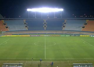 Estádio Serra Dourada antes do confronto entre Goiás e Atlético-MG (Foto: Reprodução/Sportv)