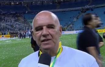 """Espinosa comemora fim do jejum do Grêmio: """"Estávamos envergonhados"""""""