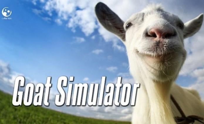 """Goat Simulator é um dos jogos """"baratinhos"""" do Steam (Foto: Divulgação/Coffee Stain Studios)"""