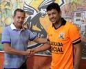 Nova Iguaçu apresenta veterano Schwenck, ex-Botafogo e Cruzeiro