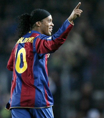 Ronaldinho Barcelona (Foto: Getty Images)