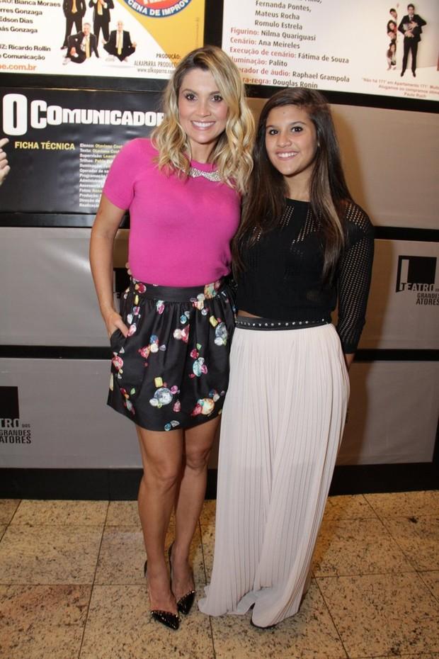 Flavia Alessandra e a filha Giulia Costa (Foto  Thyago Andrade Foto rio News 517b38e0db