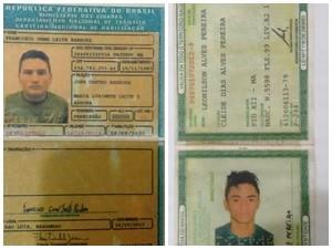 Francisco e Leonilson teriam matado professor em Matinha (MA) (Foto: Divulgação / Polícia Civil)