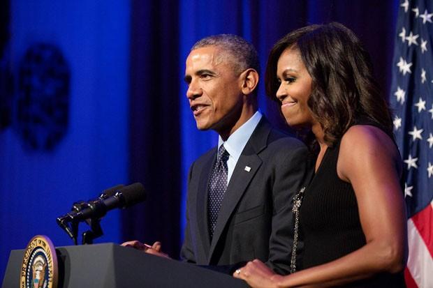 Obama apresenta projeto de seu centro presidencial (Foto: Divulgação)