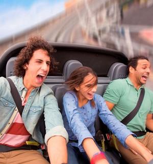Adrenalina? Nos parques Disney você tem atrações emocionantes (Divulgação/Walt Disney World)
