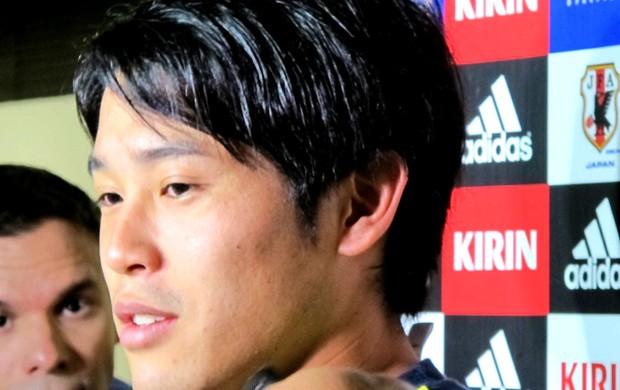 Uchida jogador do Japão (Foto: Janir Júnior)