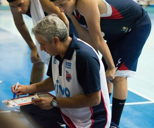 Daniel Wattfy, técnico da equipe sub-19 de Franca nos Regionais (Foto: Sérgio Poppy/AI Franca)