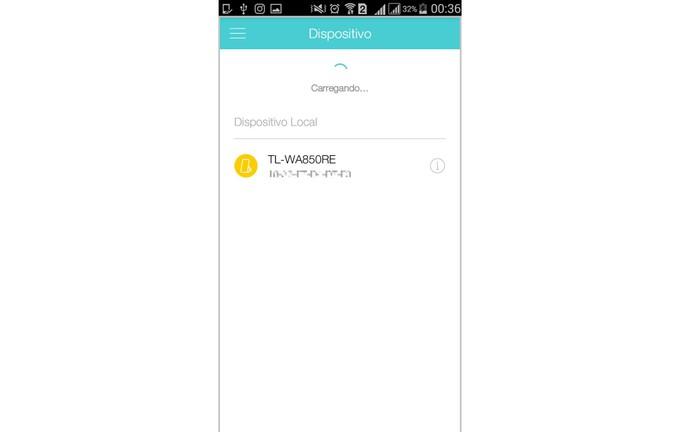 Aguarde até que o app encontre seus dispositivos da TP-Link (Foto: Reprodução/Isabela Giantomaso)