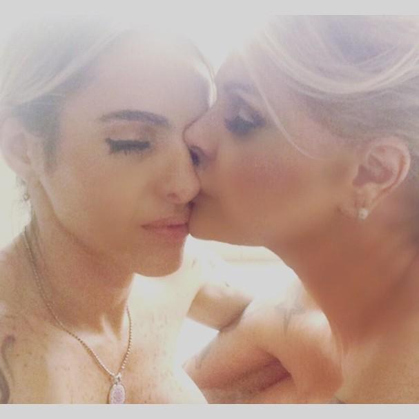 Monique Evans e Cacá Werneck (Foto: Reprodução/ Instagram)