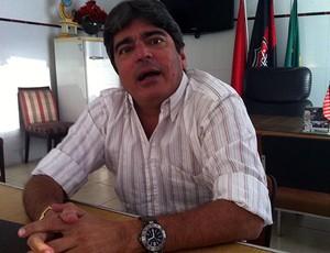 carlos falcão, vice-presidente do vitória (Foto: Renan Pinheiro/Arquivo Pessoal)