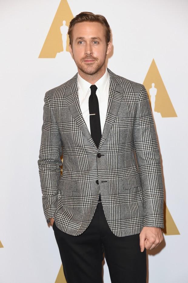 Ryan Gosling em evento em Los Angeles, nos Estados Unidos (Foto: Mark Ralston/ AFP)