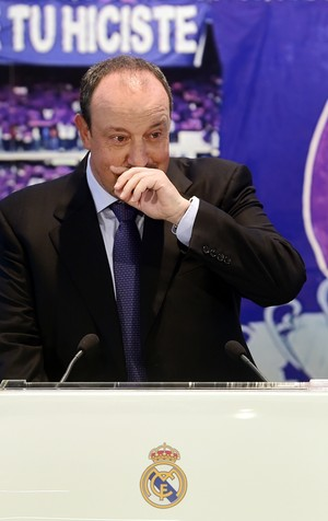 Rafa Benítez Real Madrid (Foto: AFP)