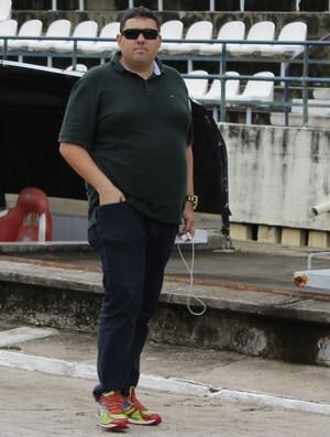 Alarcon Pacheco diretor de futebol do CRB (Foto: Caio Lorena / GloboEsporte.com)