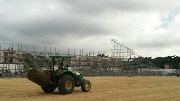 obra arena da ilha (Foto: Divulgação/Greenleaf)