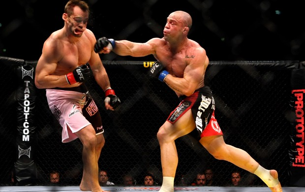 Wanderlei Silva x Rich Franklin UFC 99 (Foto: Getty Images)