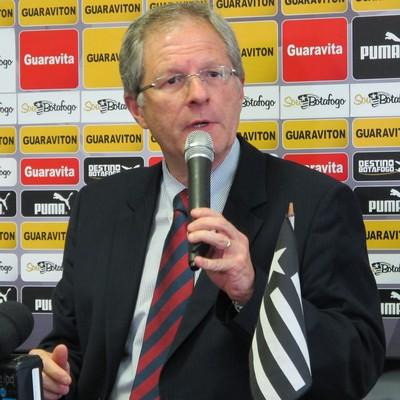 Carlos Eduardo presidente do Botafogo (Foto: Sofia Miranda)