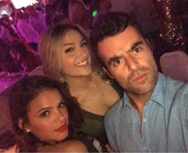 Bruna Marquezine, Sasha Meneghel e amigo (Foto: Reprodução/Instagram)