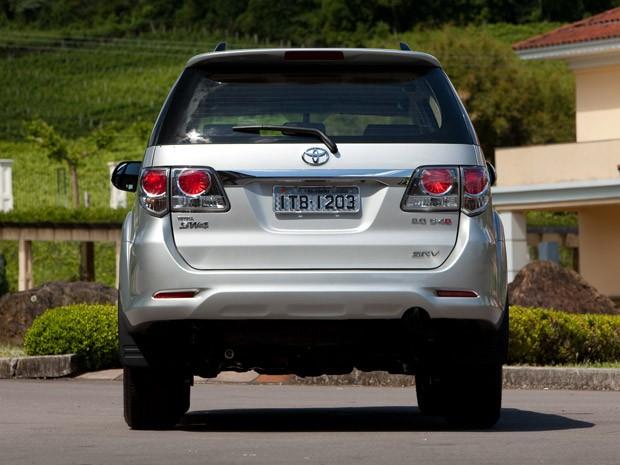 Toyota SW4 antes das mudanças (Foto: Divulgação)