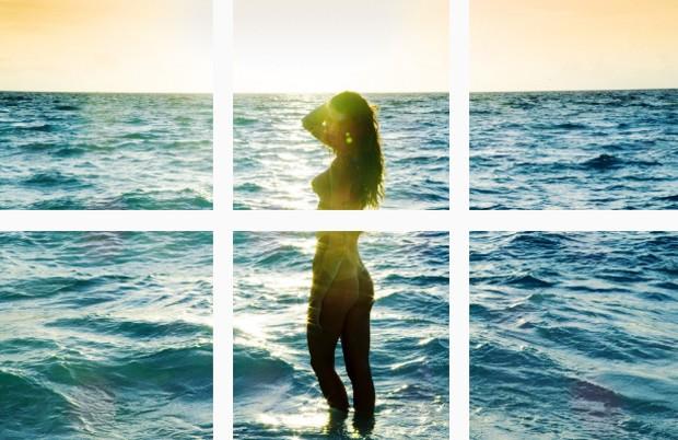 Isabeli Fontana para a 'Lui Magazine' (Foto: Reprodução/Instagram)