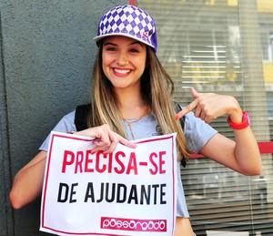 Juliana Paiva brilhou como a Fatinha de 'Malhação' (Foto: João Miguel Júnior / Globo)