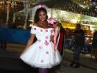 Cris Vianna vira noiva em festa junina no Rio