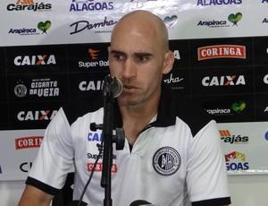 Lucas, volante do ASA (Foto: Leonardo Freire/GloboEsporte.com)