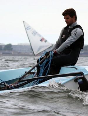 Jorge Zarif está perto do título mundial da classe Finn (Foto: Hanna Odras/Finn Gold Cup 2013 Tallinn)
