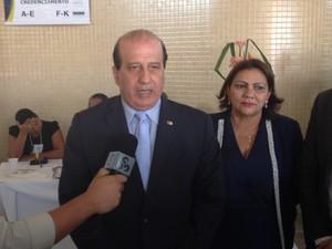 Augusto Nardes, presidente do Tribunal de Contas da União (Foto: John Pacheco/G1)