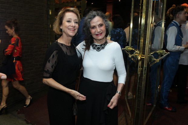 Ana Botafogo e Rosamaria Murtinho (Foto: Marcello Sá Barretto/ AgNews)