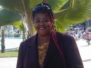 Alzira Rufino, coordenadora da Casa de Cultura da Mulher Negra, em Santos (Foto: Arquivo Pessoal)