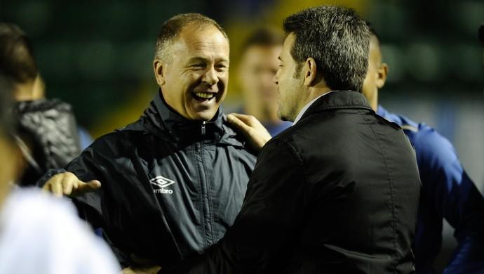 Mano Menezes; Cruzeiro; Argel Fucks (Foto: Eduardo Valente/Light Press)