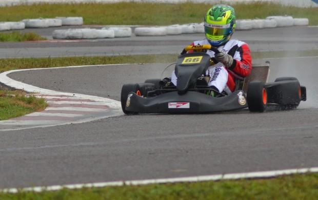 Sergipano foi campeão brasileiro de kart (Foto: Felipe Martins/GLOBOESPORTE.COM)
