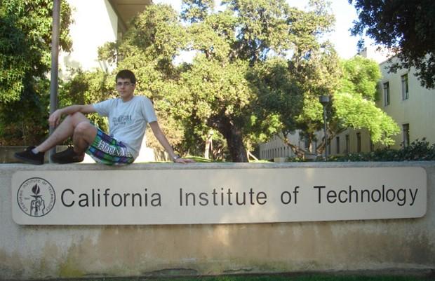 Victor Venturi passou em 6 universidades, mas escolheu o Caltech para cursar Engenharia Mecânica na Califórnia (EUA) (Foto: Victor Venturi/Arquivo Pessoal)