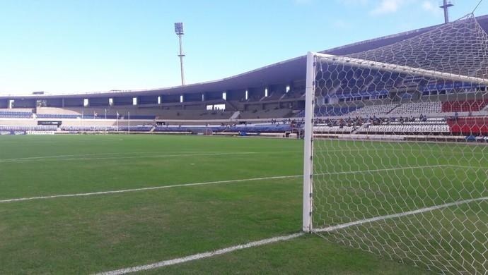 Estádio Rei Pelé (Foto: Denison Roma / GloboEsporte.com)
