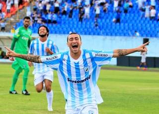 paulinho gol londrina coritiba paranaense (Foto: Robson Vilela/Londrina)