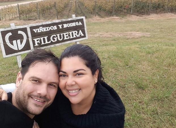 Faiana Karla e o marido, Bruno Muniz (Foto: Reprodução/Instagram)
