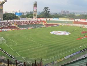 Estádio do Canindé (Foto: Marcelo Hazan / Globoesporte.com)