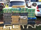 Kombi parada em município de MS tinha quase 1 tonelada de maconha