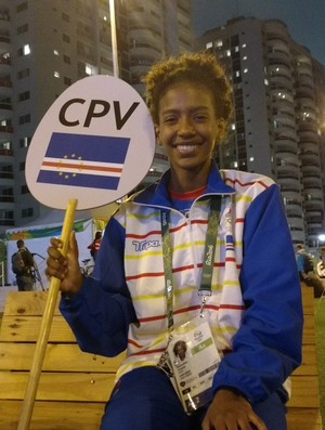 Elyane Boal, ginástica rítmica, Cabo Verde (Foto: Juscelino Filho)
