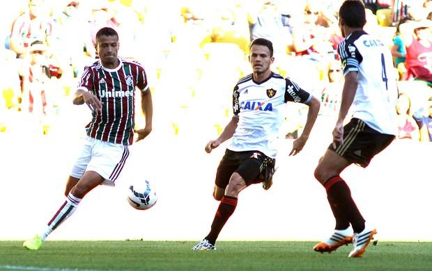 Cícero jogo Fluminense x Sport (Foto: Nelson Perez / Site Oficial do Fluminense)